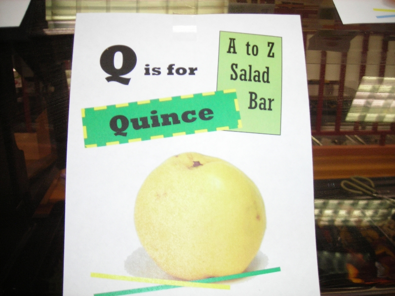 a-to-z-quince-sign