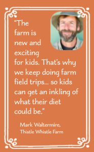 Farmers Dig It - stat box - Waltermire quote