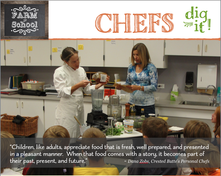 Chefs Dig It - intro photo